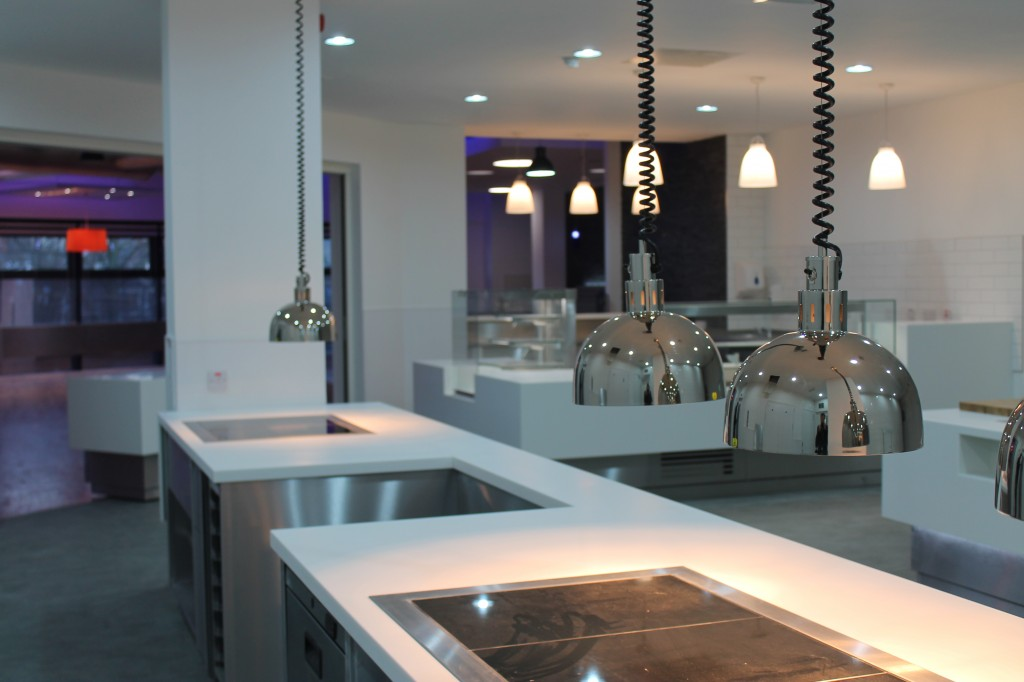 kitchen and restaurant lighting