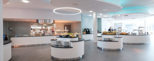Commercial kitchen design and installation self catering stations
