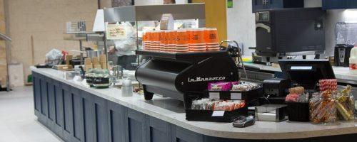bar design, commercial kitchen install