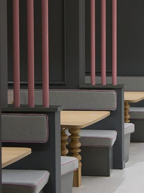 catering furniture, booth design, furniture design and install