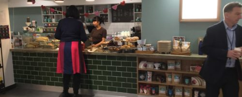 A new coffee bar for WPP Group that Ceba Solutions Ltd installed to improve their commercial catering facility