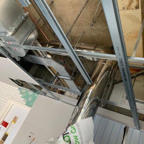 office restaurant design - ventilation