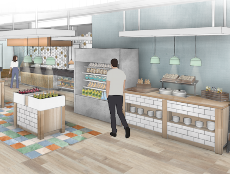 commercial kitchen design post COVID